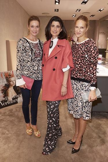 Designer Dorothee Schumacher at Vogue's Fashion's Night Out