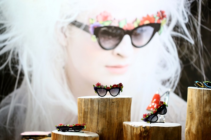 Fashion-forward sunglasses from Milan Fashion Week