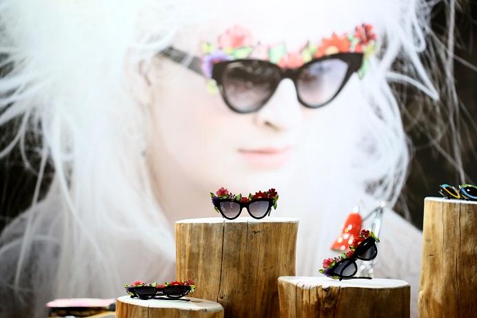 Fashion-forward sunglasses from Milan Fashion Week