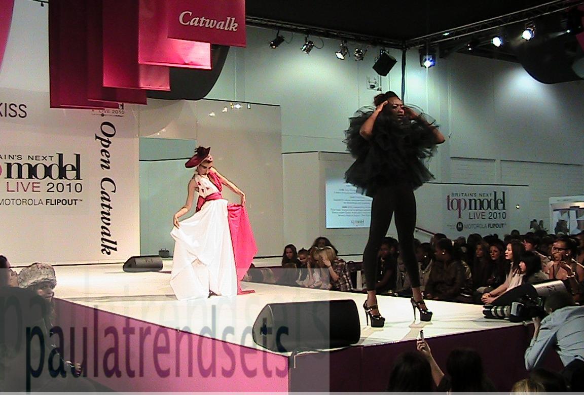Britain's Next Top Model Live Show 2010