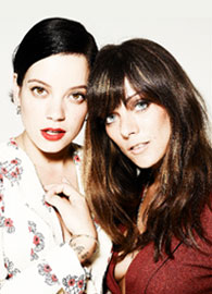 Lily Allen presents ready-to-wear collection
