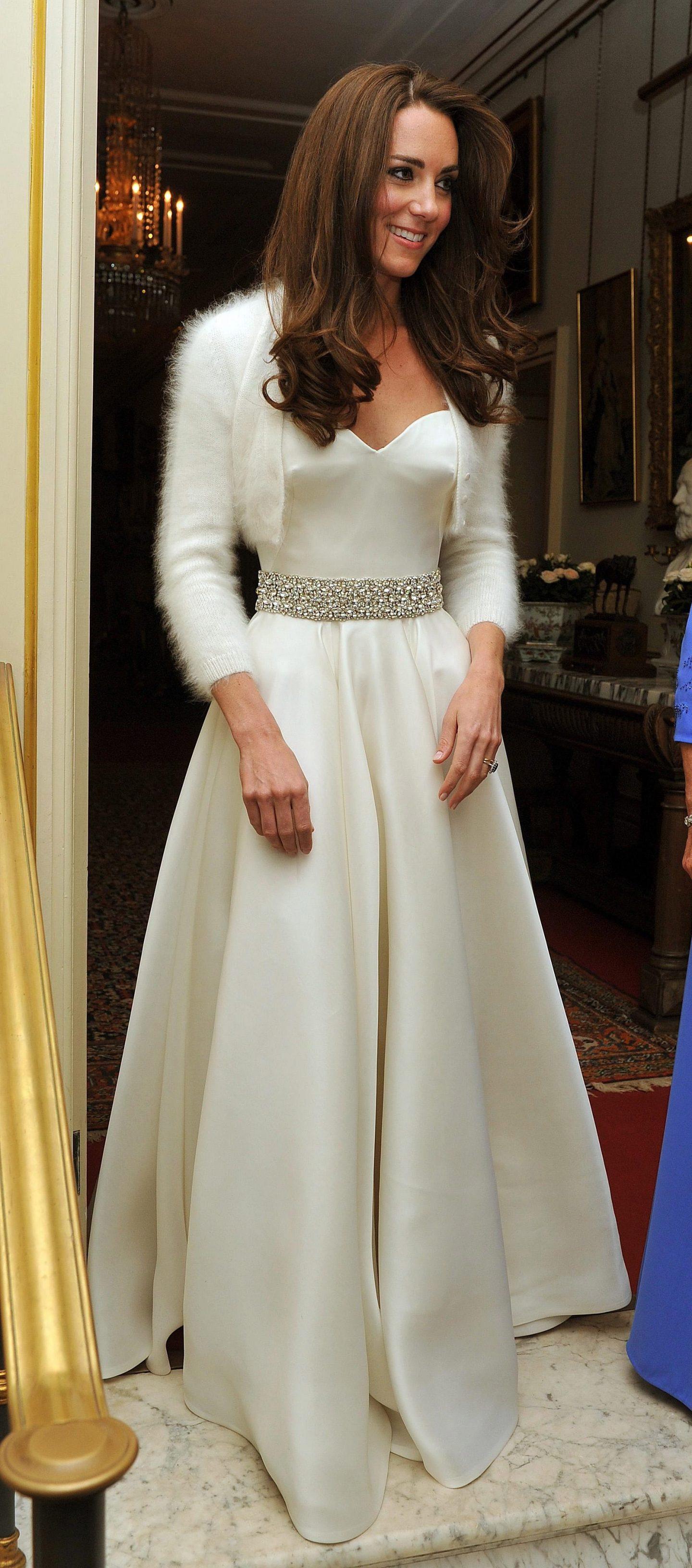 Princess Catherine's evening dress another Sarah Burton