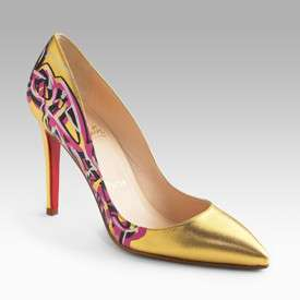 Louboutin SUES over SHOES