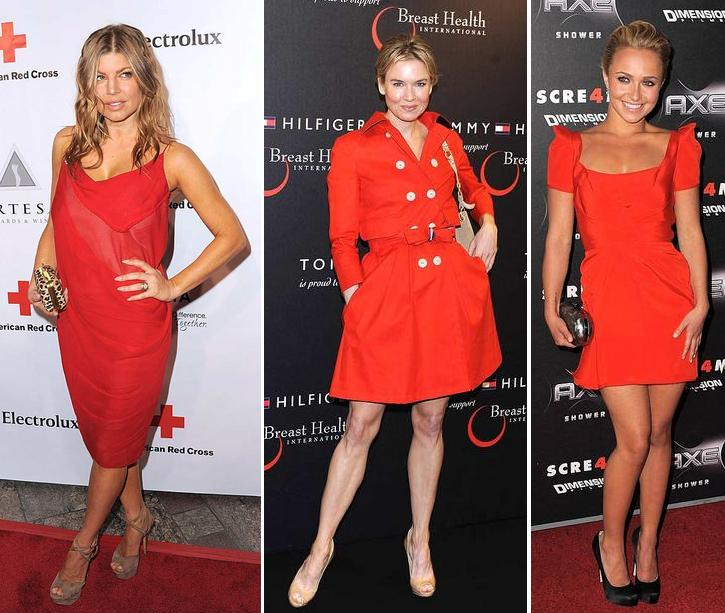 Celeb Trend; as Red as an Easter egg