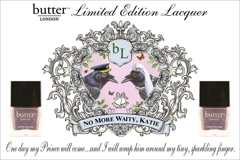 """Royal Beauty; """"No more waity, Katie!"""""""