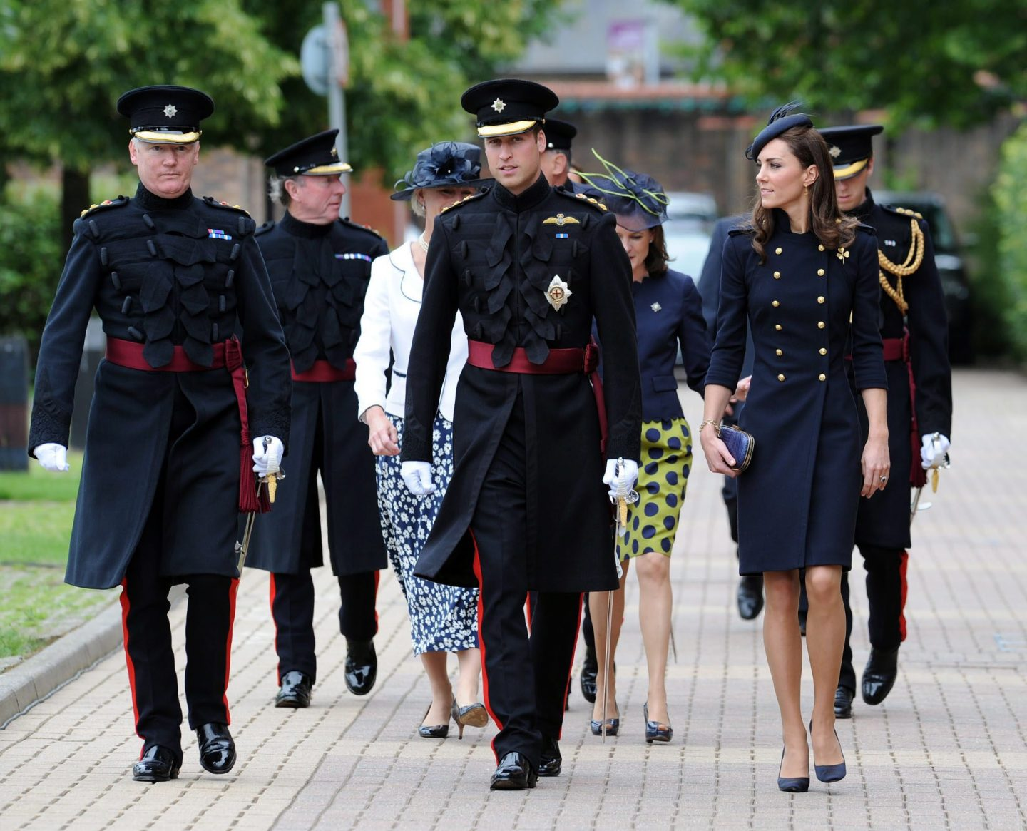 Princess Catherine joins the Navy (blue)
