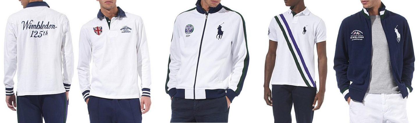 Men's collection commemorates Wimbledon 125 years' anniversary