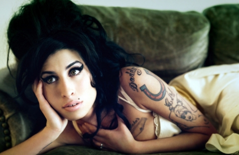 A tribute to Amy Winehouse's iconic style