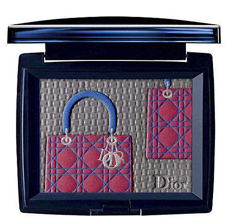 Ltd edition Lady Dior bag eyeshadow palette