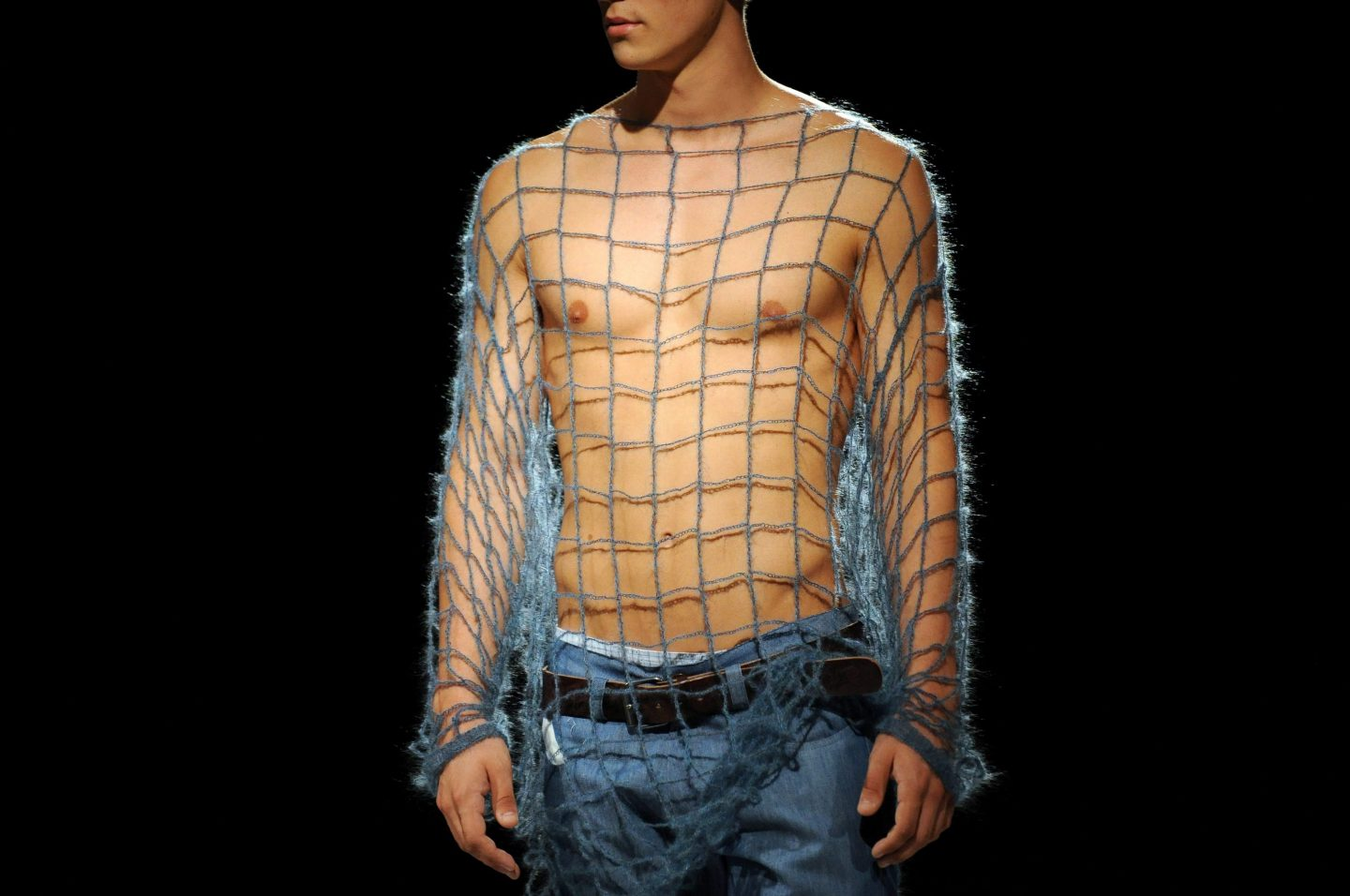 The male equivalent of Kate Middleton's fishnet dress