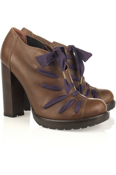 Most wanted alert; Vanessa Bruno lace-up ankle boots
