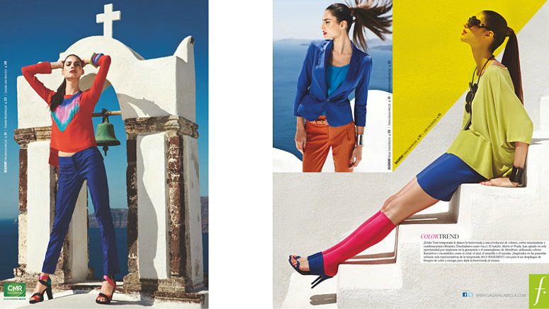 "Argentinian label fashion shoot in Mykonos and Santorini (""Queen of Spade Productions"")"