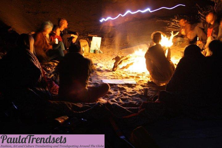 New Year's Eve in the Indian Desert