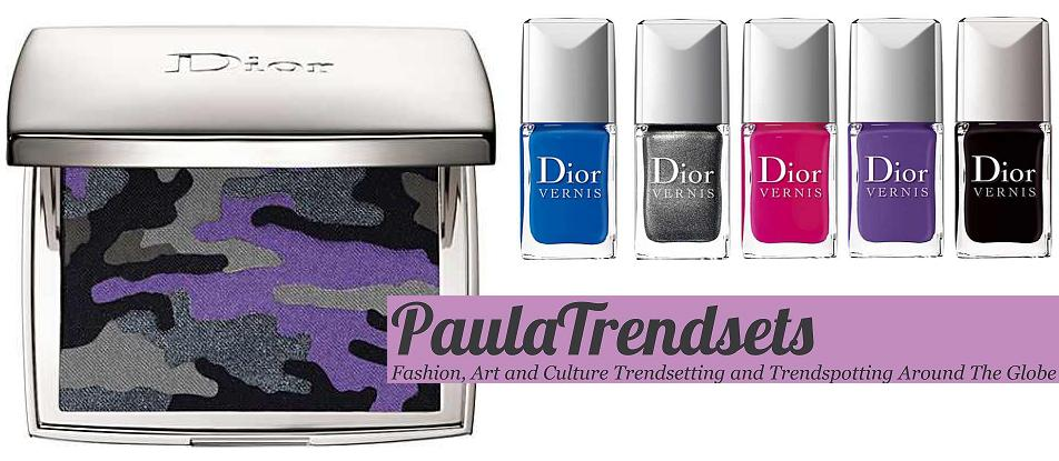Anselm Reyle for Dior – ltd edition make-up range