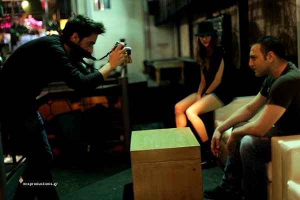 "Backstage at ""Pio Sovara"" video shooting"