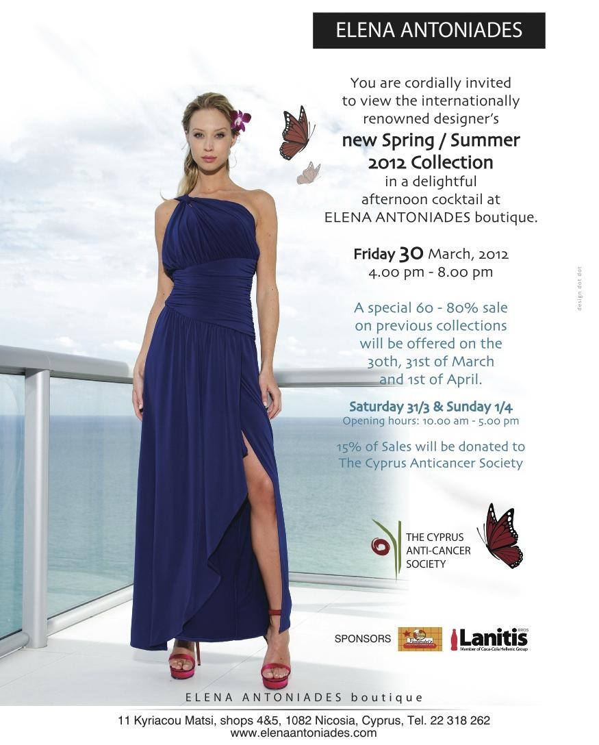 Elena Antoniades shopping event supports good cause
