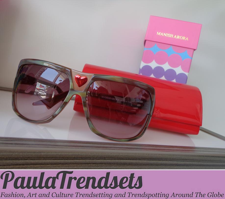 Sunglasses trend report 2012 – Missoni & Manish Arora