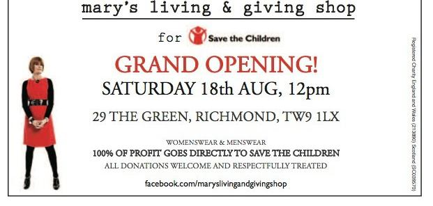Celebrate Olympic style at Mary Portas' latest Living and Giving Shop