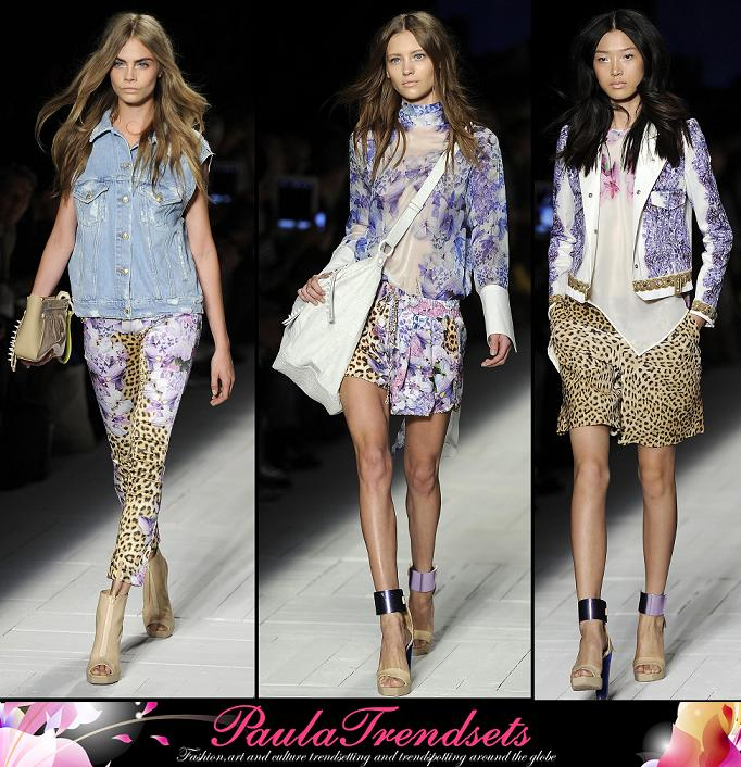 Milan Moda Donna Fashion Week – Just Cavalli ss13
