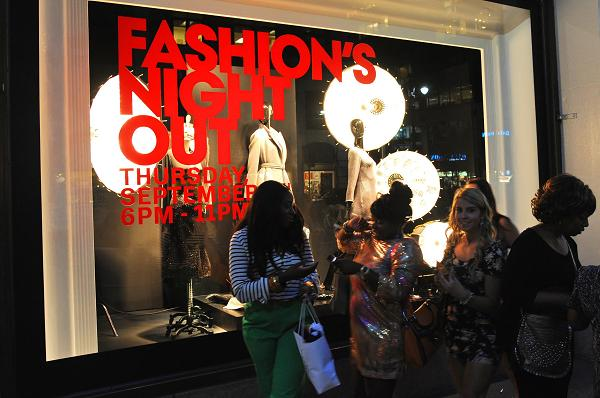 Vogue Fashion's Night Out – New York – Meet the celebs