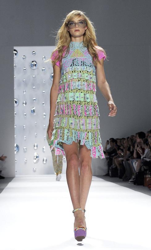 NY Fashion Week – Custo Barcelona men's and women's fashion ss13