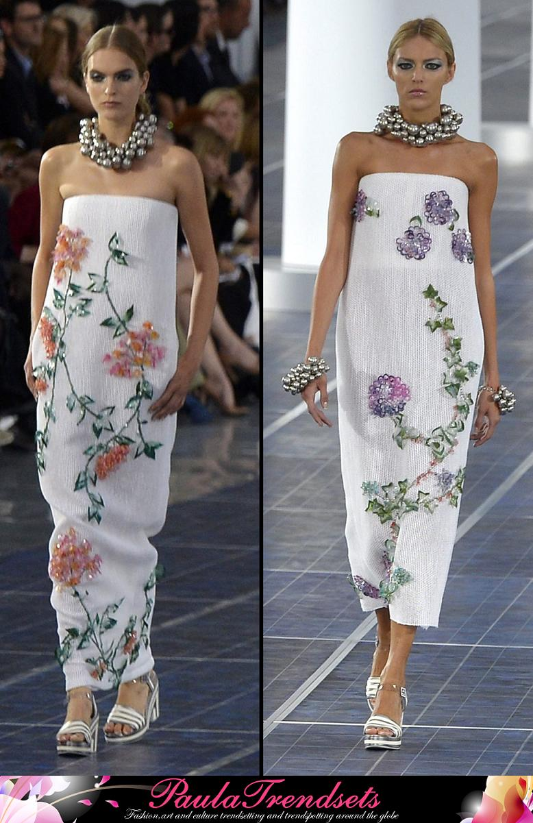 chanel dresses fashion spring summer 2013 � paulatrendsets
