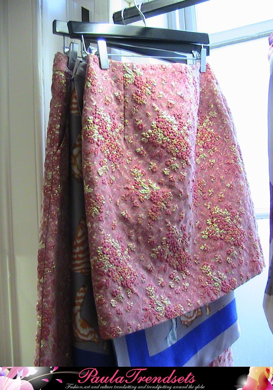 Textured skirts