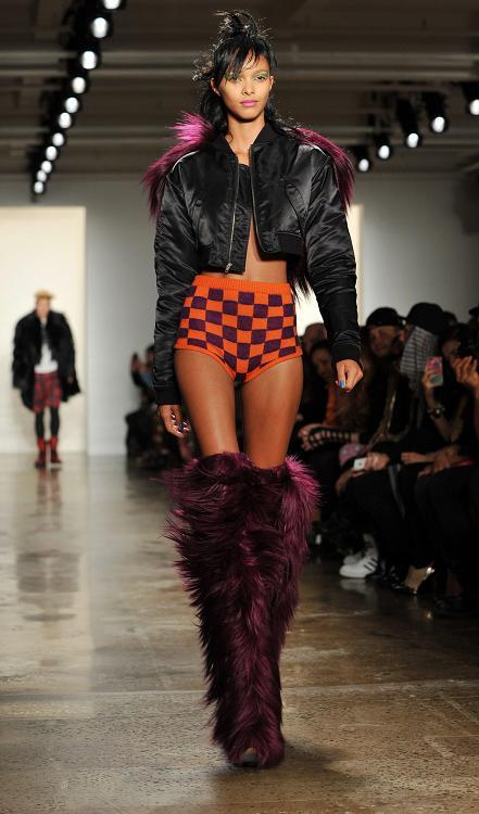 Jeremy Scott Runway – New York Fashion Week Fall 2013