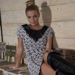 Fashion photoshoot for Queenfashion.gr - Stylist Paula Tsoni - Model Stefania Novikova