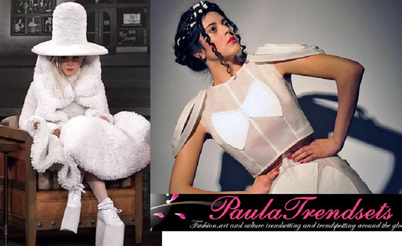 Coffee filter dresses before Lady Gaga set the trend