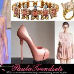 How to wear powder pink