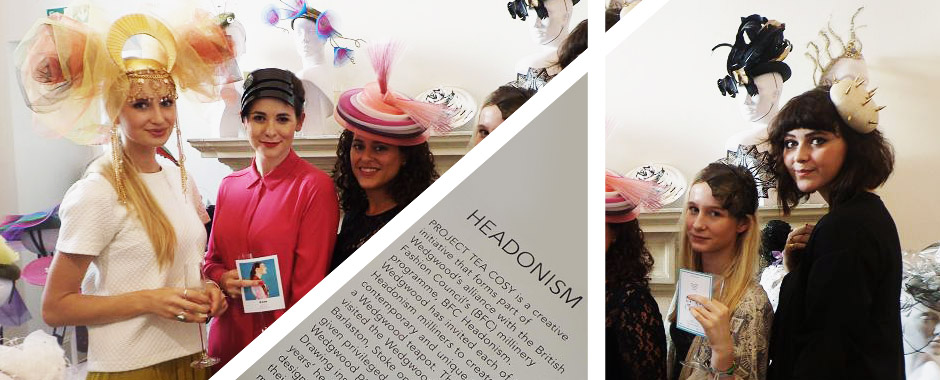 LFW: Project Tea Cosy and the magic world of Millinery