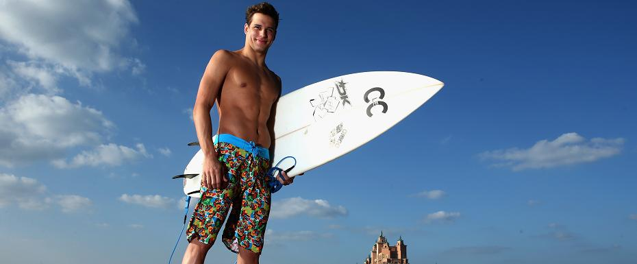 Chad le Clos launches swimwear collection