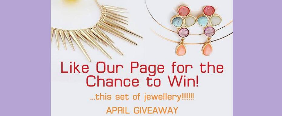 WIN this set of jewellery!