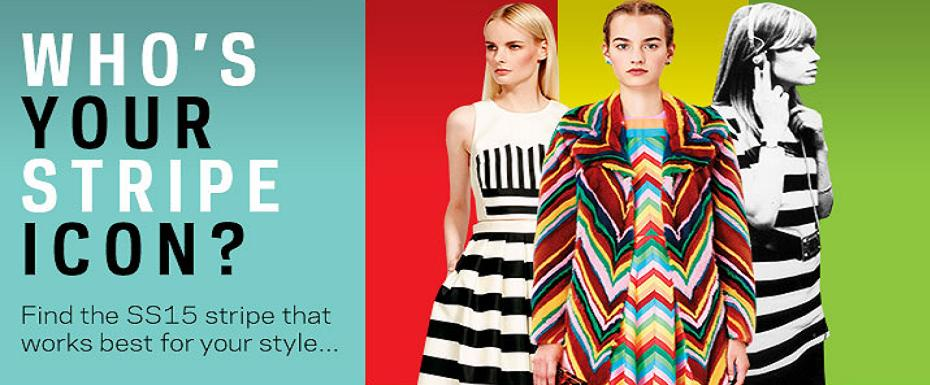 Who is your stripe icon & how to work the stripes trend
