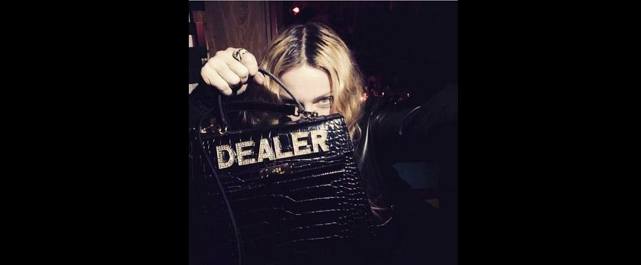 Where did Madonna snap up this gorgeous handbag from?