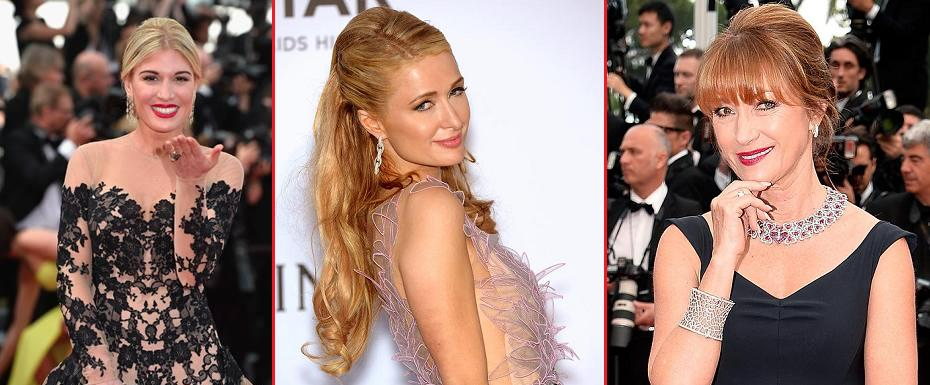 Bedazzling jewellery on the red carpet @ Cannes Film Festival 2015