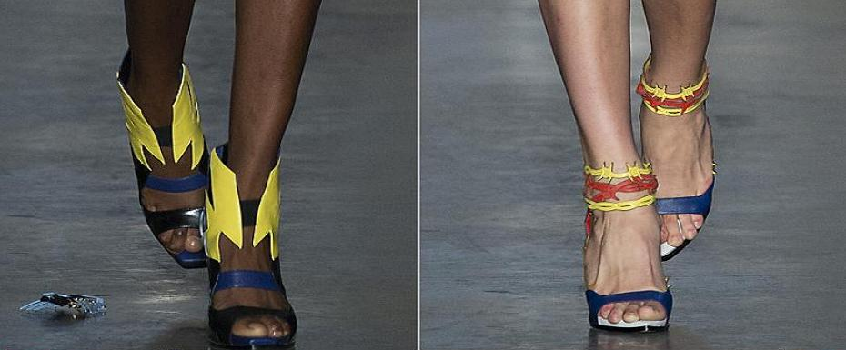 Superhero heels – Staccato by Ground Zero London