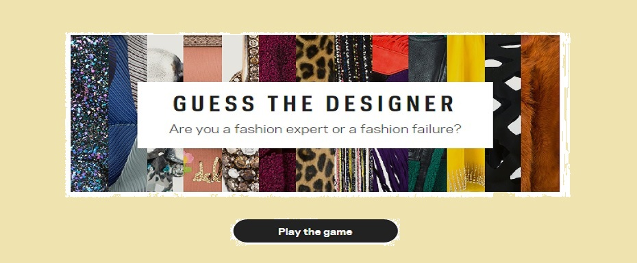 FASHION QUIZ! Guess the designer to win shopping vouchers