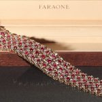 Faraone Rubies and Diamonds Bracelet