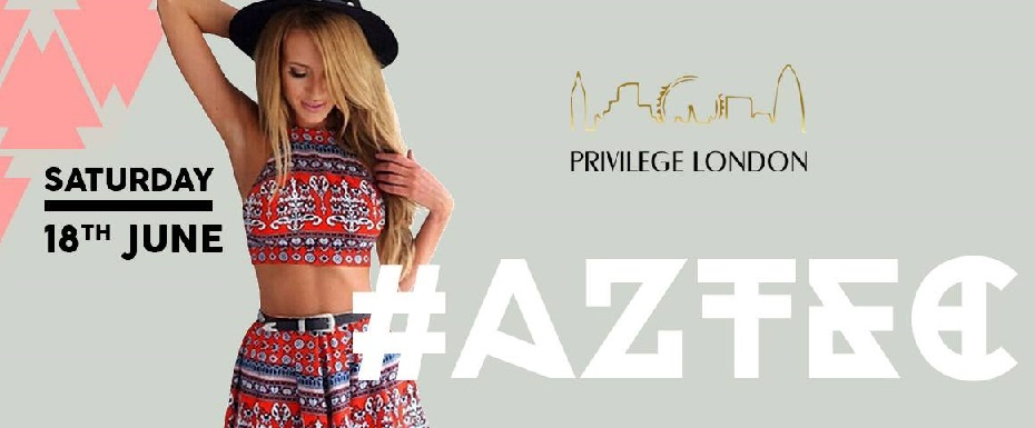YOU ARE INVITED! Exclusive Aztec-Themed Fashion Party in London