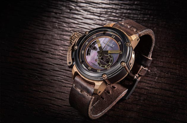 A new, astonishing design men's watch by U-BOAT